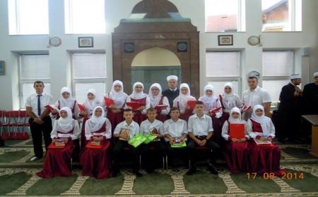 Hatmenski ispit za 16 polaznika vjerske pouke u Đulićima
